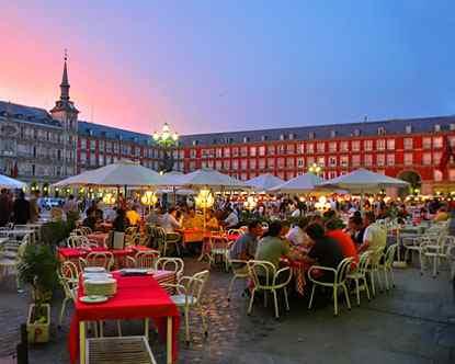 Restaurant Bar Madrid Spain