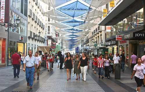 Shopping Madrid Spain