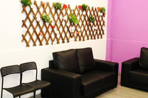 escuela espanol malaga area de relax