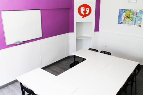 spanish school classroom malaga