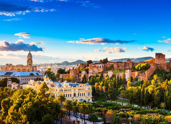 Malaga top 6 places