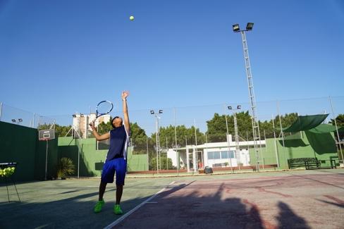 spanish classes tennis classes