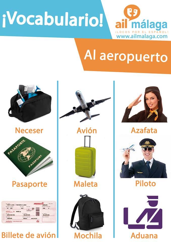 vocabulario aeropuerto