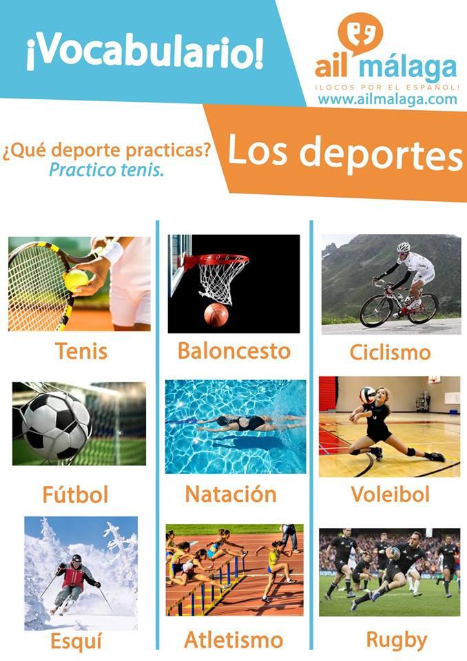 vocabulario deportes