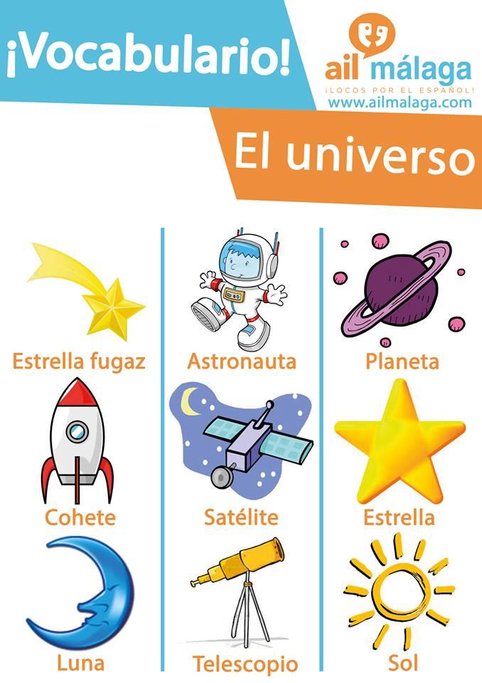 vocabulario universo