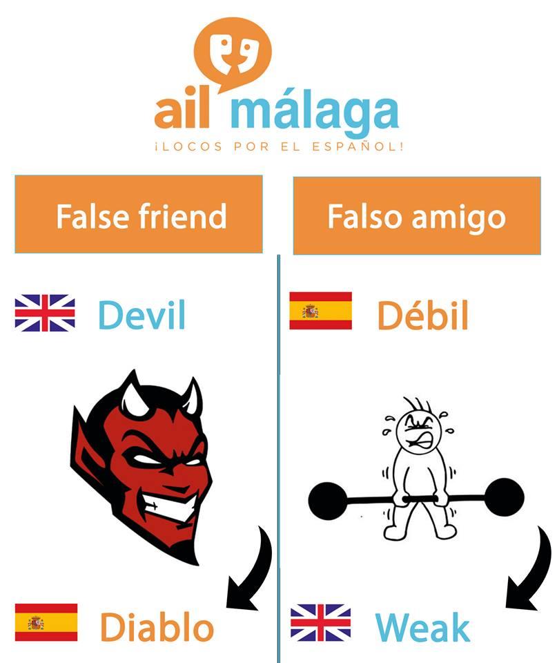 falso amigo diablo