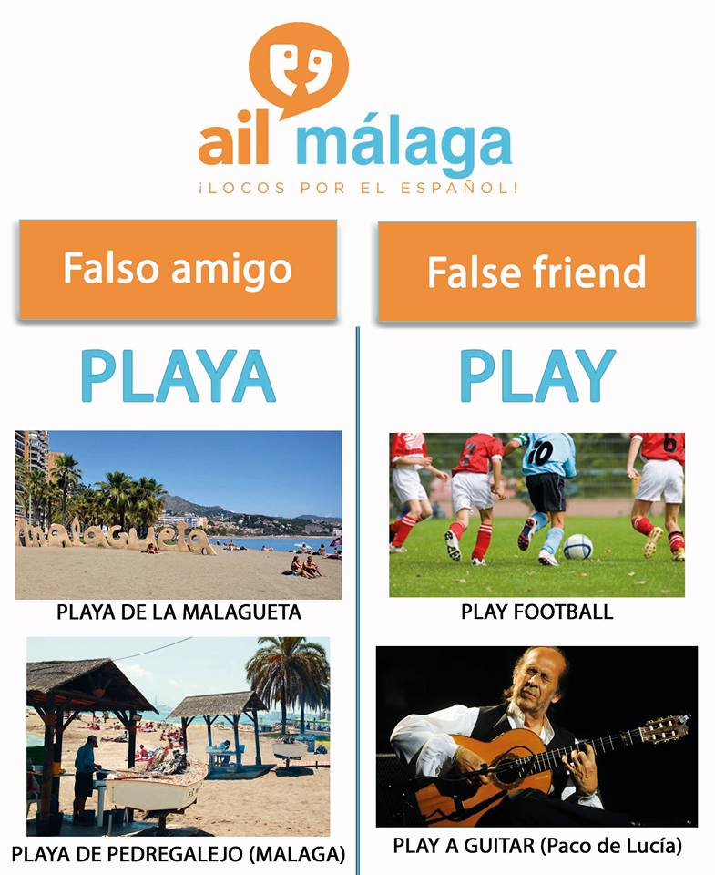 falso amigo playa