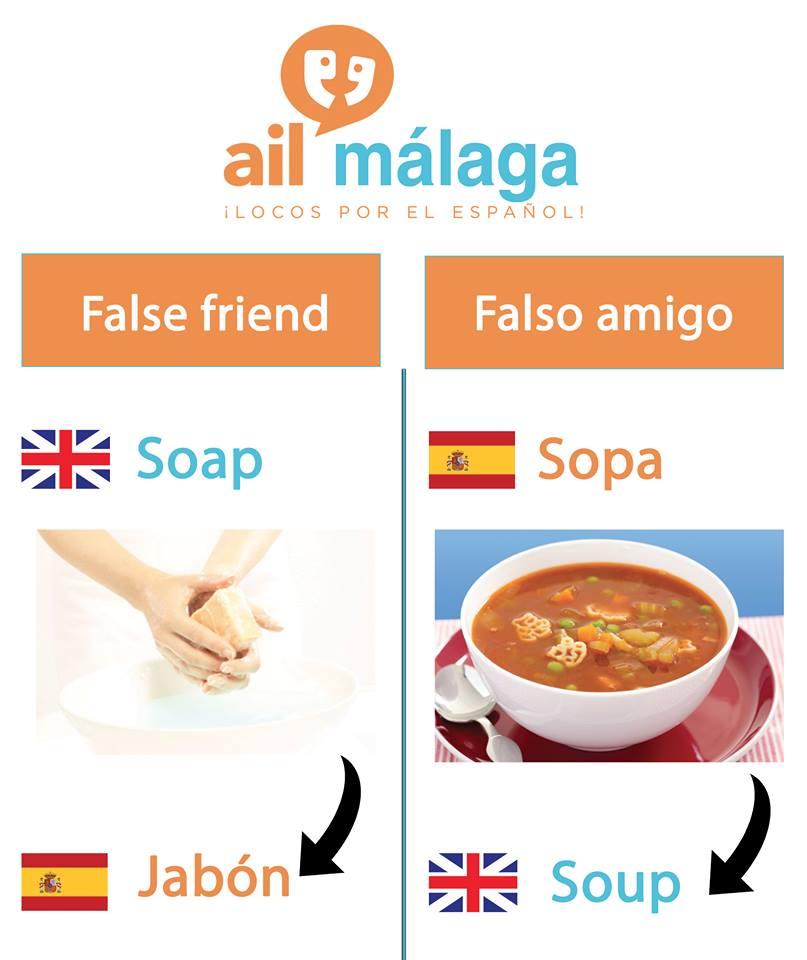 falso amigo sopa