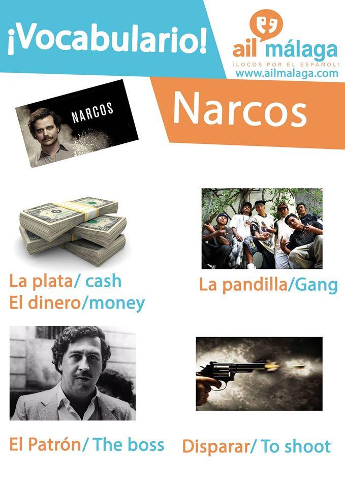 vocabulario narcos