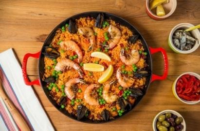 manger paella sans gluten