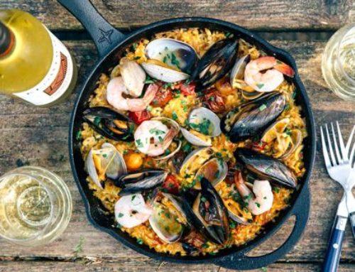 Como cocinar Paella