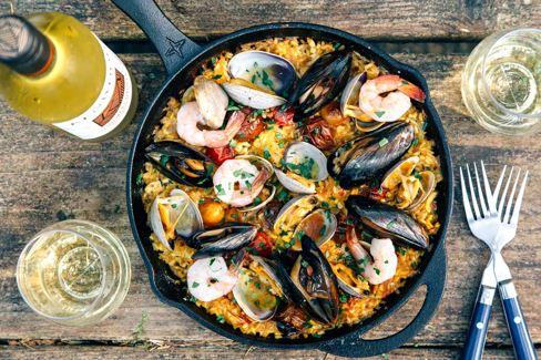 Como cocinar paella ail malaga spanish language school intensive courses - Como cocinar paella ...