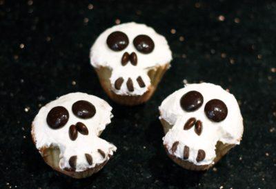 halloween skull cupcakes spanish