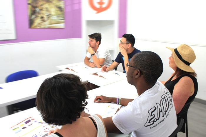 Learn spanish in malaga