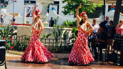 apprendre flamenco malaga espagne