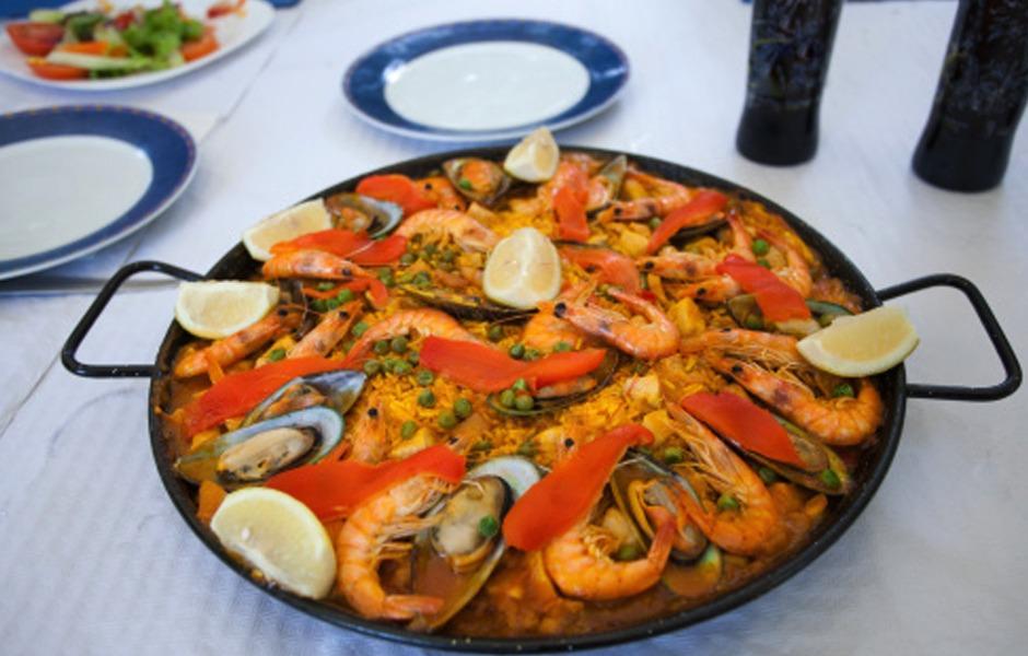 paella jedzenie hiszpanskie potrawy kurs gotowania hiszpanskiego