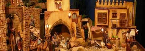 swiateczna szopka zlobek jezus swieta malaga zimowy kurs ail