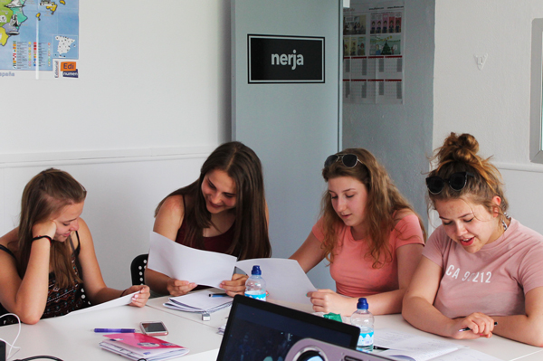 español idioma estudiantes malaga
