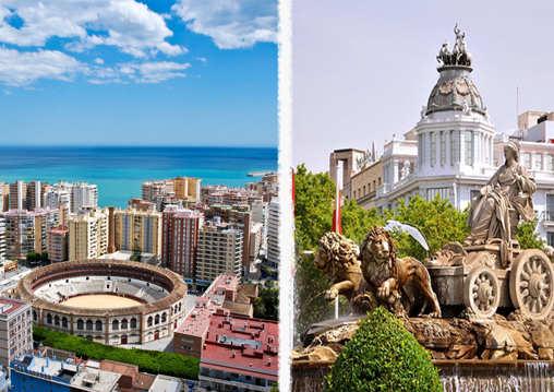 kurs 2 lokacje madryt malaga hiszpania nauka jezyka