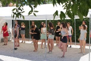 flamenco group school trip