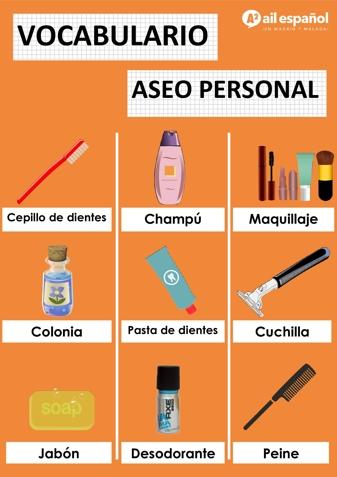 ASEO PERSONAL - AIL Malaga Spanish Language School study materials