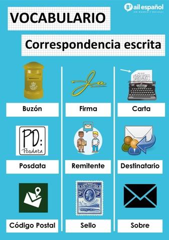 CORRESPONDENCIA ESCRITA - AIL Malaga Spanish Language School study materials