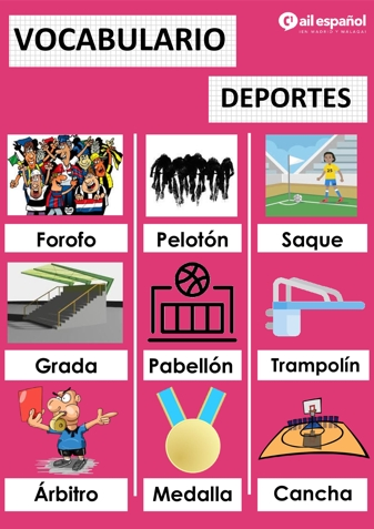 DEPORTES - AIL Malaga Spanish Language School study materials