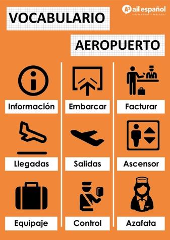 EL AEROPUERTO - AIL Malaga Spanish Language School study materials