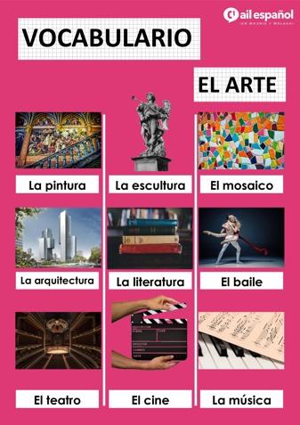 EL ARTE - AIL Malaga Spanish Language School study materials