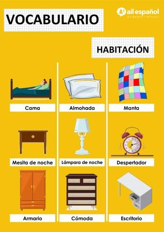 HABITACION - AIL Malaga Spanish Language School study materials