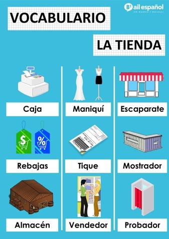 LA TIENDA - AIL Malaga Spanish Language School study materials