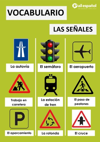 LAS SENALES - AIL Malaga Spanish Language School study materials