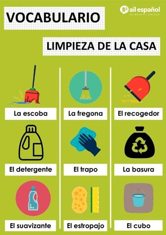 LIMPIEZA - AIL Malaga Spanish Language School study materials