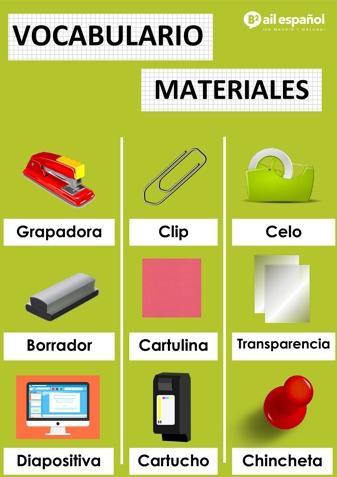 MATERIALES - AIL Malaga Spanish Language School study materials
