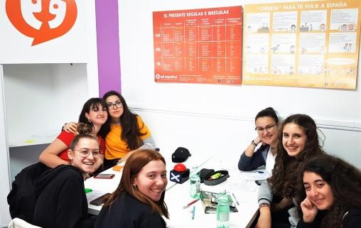 corso di spagnolo per gruppi scolastici a malaga