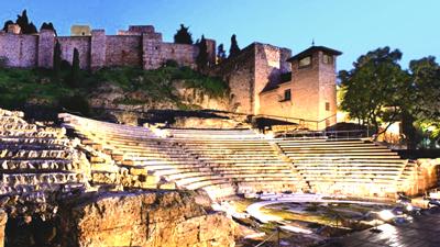 Alcazaba malaga hiszpania