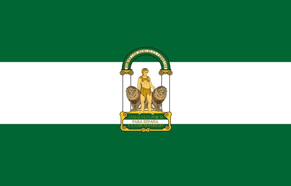 Andalusia Flag AIL Malaga
