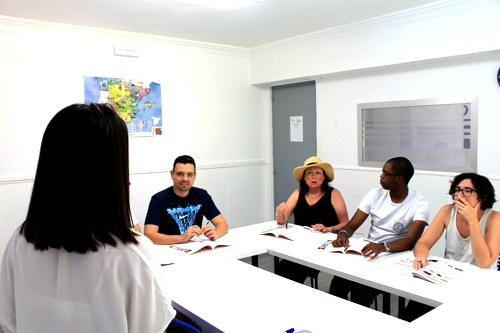 kombinierter Sprachkurs ail Málaga Spanien