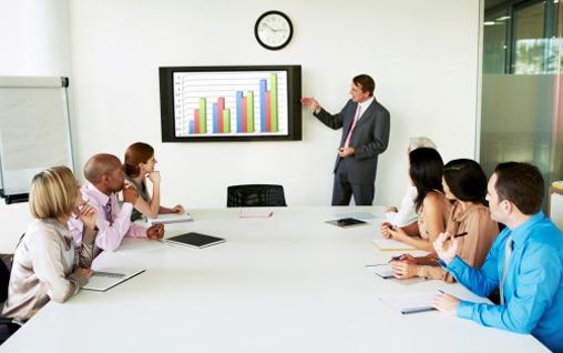 Business Spanien ail Málaga Sprachschule meeting