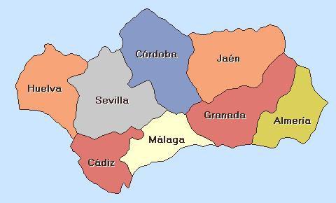 map andalucia AIL MALAGA